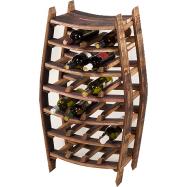 Dubový stojan na 24 lahví vína - Firenze